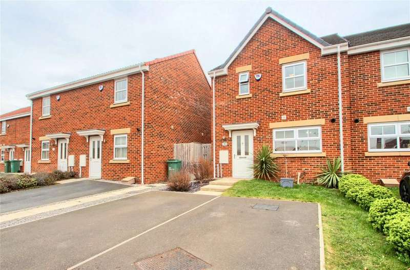 3 Bedrooms Semi Detached House for sale in Densham Drive, Stockton-On-Tees