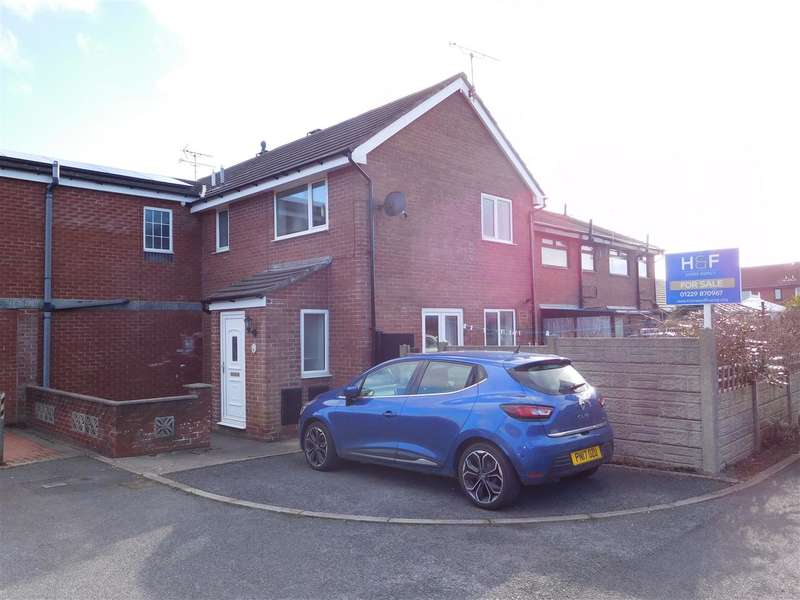 2 Bedrooms End Of Terrace House for sale in Allonby Close, WALNEY ISLAND