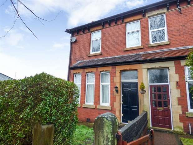 3 Bedrooms End Of Terrace House for sale in Lytham Road, Fulwood, Preston, Lancashire