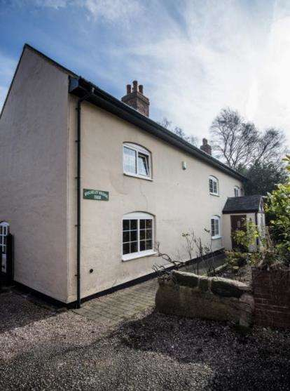 4 Bedrooms Detached House for sale in Wolseley Bridge, Bishton Lane, Stafford, Staffordshire