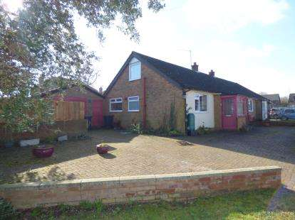 3 Bedrooms Bungalow for sale in Maltings Close, Cranfield, Bedford, Bedfordshire