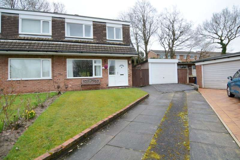 3 Bedrooms Semi Detached House for sale in Lorgill Close, Davenport, Stockport, SK3 8UR