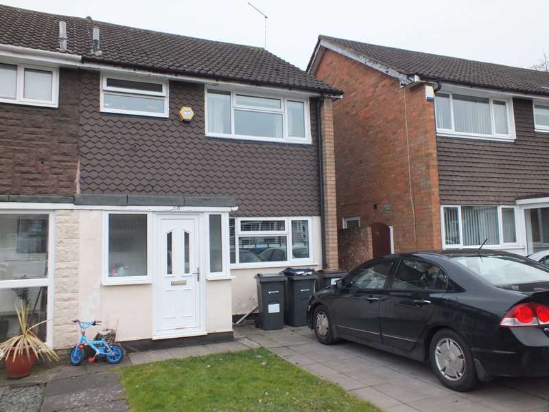 3 Bedrooms Semi Detached House for rent in Marie Drive, Birmingham