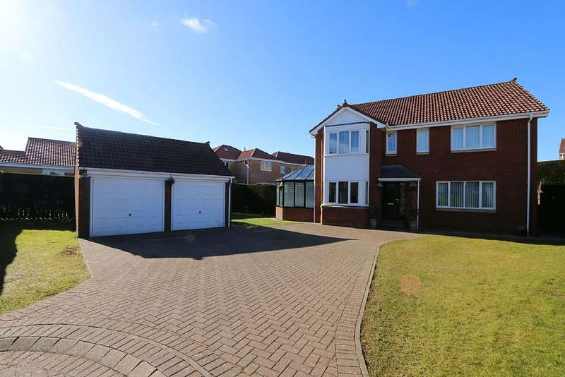 5 Bedrooms Detached House for sale in Meadow Grange, Berwick-upon-Tweed, Northumberland, TD15 1NW