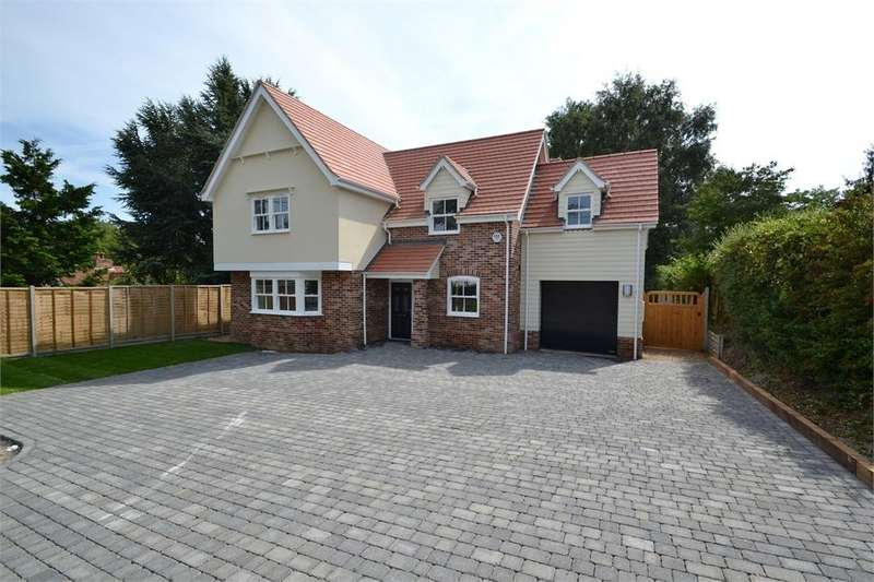 4 Bedrooms Detached House for sale in Green Lane, Boxted, Colchester, Essex