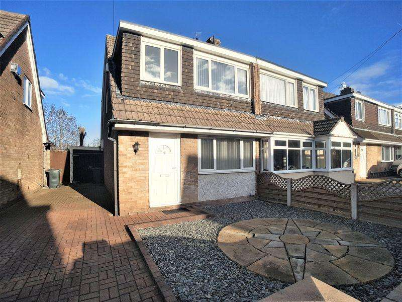 3 Bedrooms Semi Detached House for sale in Colburne Close, Burscough, Ormskirk