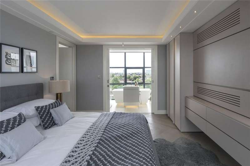 4 Bedrooms Penthouse Flat for sale in Long Island House, Warple Way, Acton, London, W3