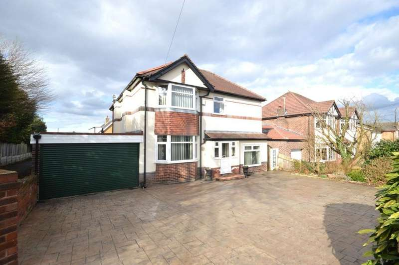 4 Bedrooms Detached House for sale in Grappenhall Road, Stockton Heath, Warrington