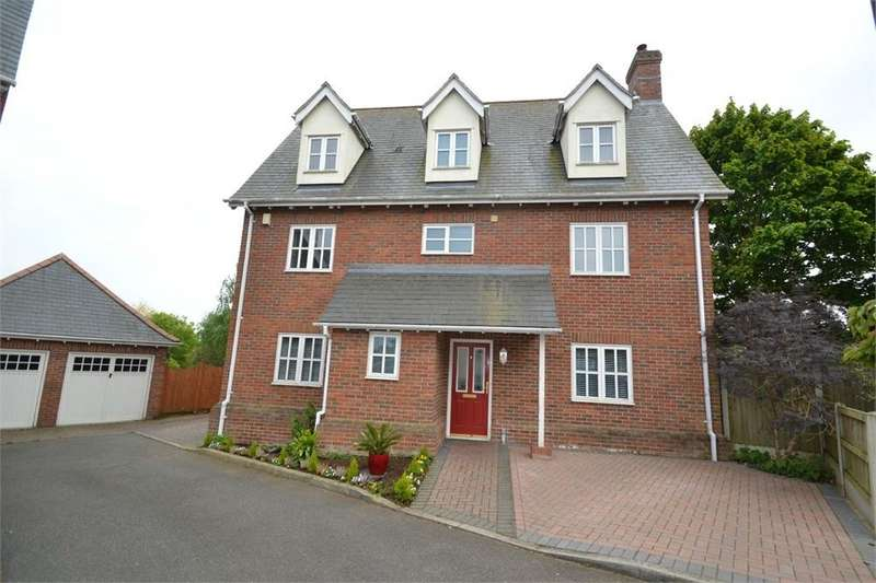 4 Bedrooms Detached House for sale in Ely Gardens, COLCHESTER, Essex