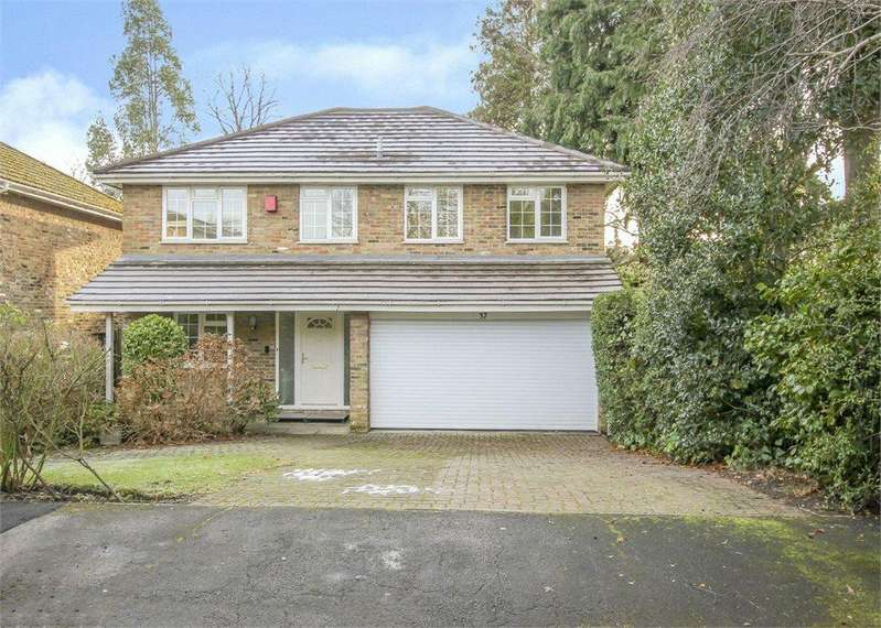 4 Bedrooms Detached House for sale in The Ridgeway, Bracknell, RG12