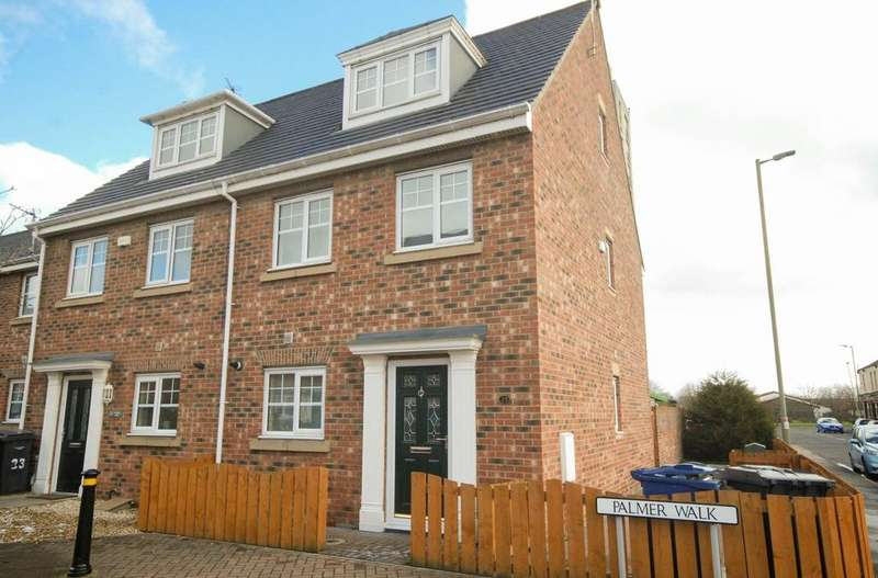 4 Bedrooms Town House for sale in Palmer Walk, Jarrow