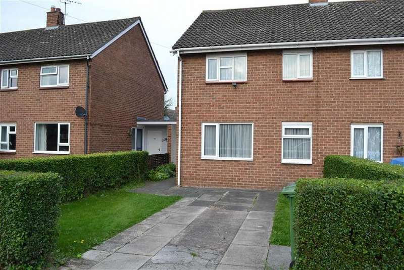 3 Bedrooms Semi Detached House for sale in Woodcote Way, Monkmoor, Shrewsbury