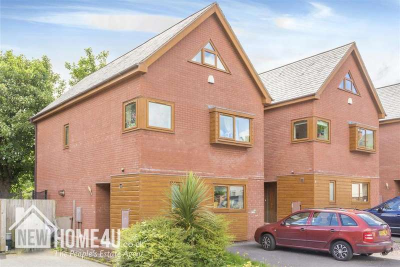 5 Bedrooms Detached House for sale in Chandlers Court, Connah's Quay, Deeside