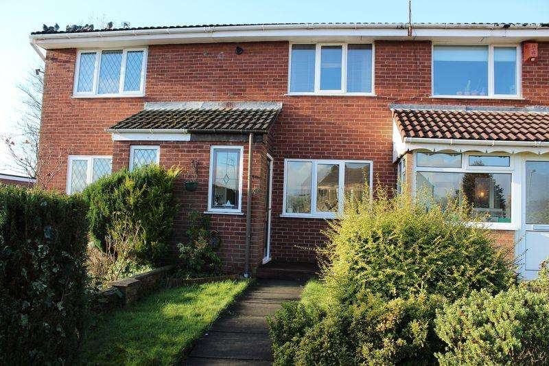 2 Bedrooms Terraced House for sale in Selby Close, Milnrow, Rochdale, OL16 4DD