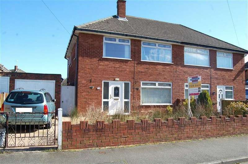 3 Bedrooms Semi Detached House for sale in Beechcroft Drive, Whitby, Ellesmere Port