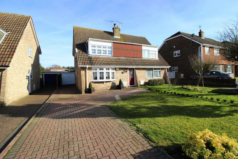 3 Bedrooms Semi Detached House for sale in Ash Tree Drive, West Kingsdown TN15