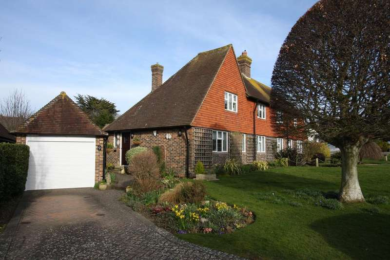 3 Bedrooms Semi Detached House for sale in Wenthill Close, East Dean BN20