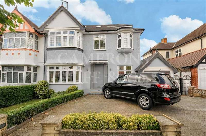5 Bedrooms Semi Detached House for sale in Wren Avenue, Cricklewood, London, NW2