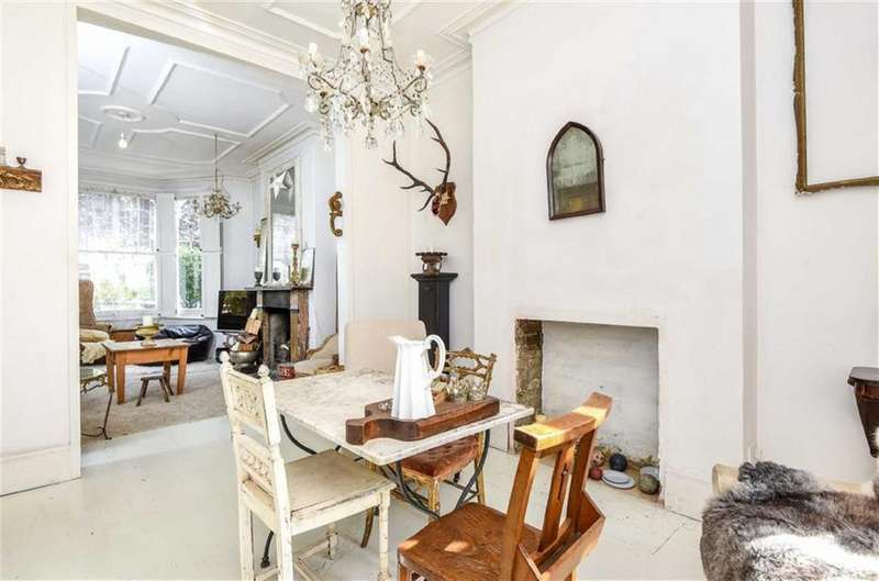 4 Bedrooms Terraced House for sale in Dudley Road, Queens Park, London, NW6