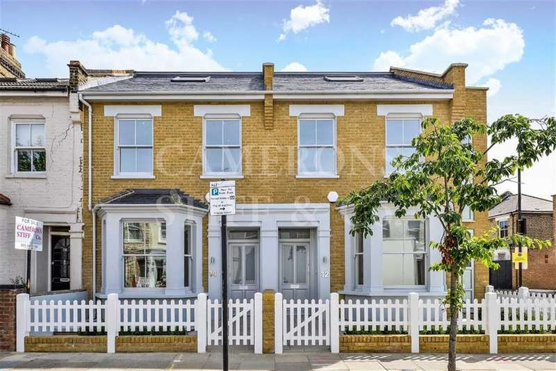 4 Bedrooms Terraced House for sale in Letchford Gardens, Kensal Green, London, NW10