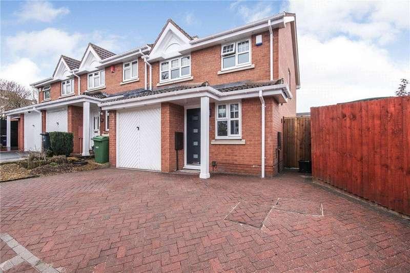 3 Bedrooms Semi Detached House for sale in Batchelor Close, Amblecote, Stourbridge, West Midlands, DY8
