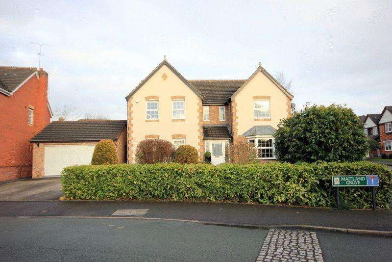 5 Bedrooms Detached House for sale in Maitland Grove, Trentham