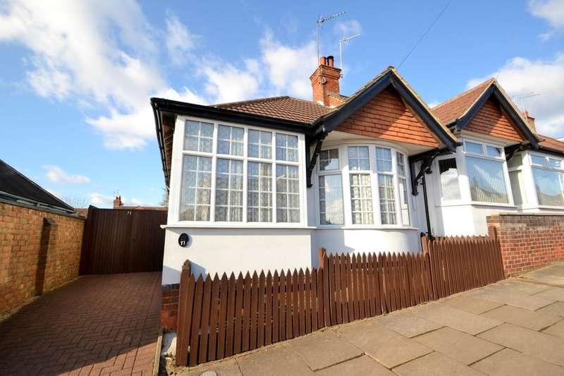 2 Bedrooms Semi Detached Bungalow for sale in Yelvertoft Road, Kingsthorpe, Northampton, NN2
