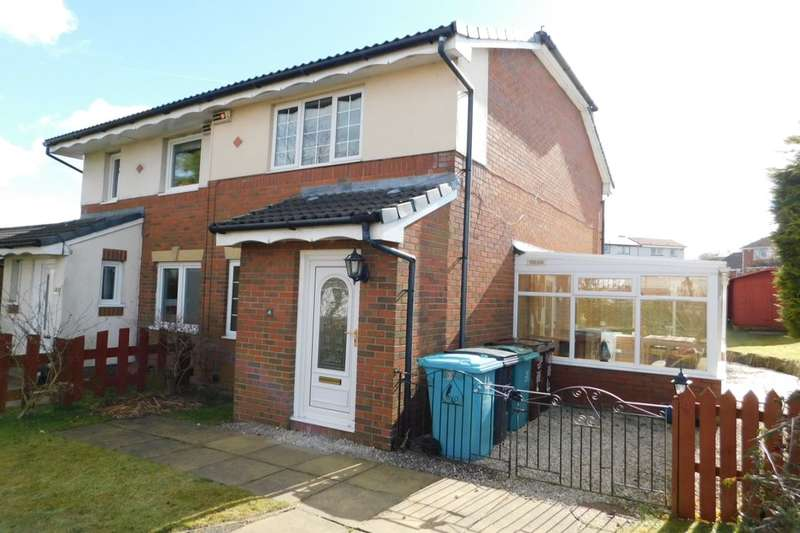 2 Bedrooms Semi Detached House for sale in Mcmahon Drive, Newmains, Wishaw, ML2
