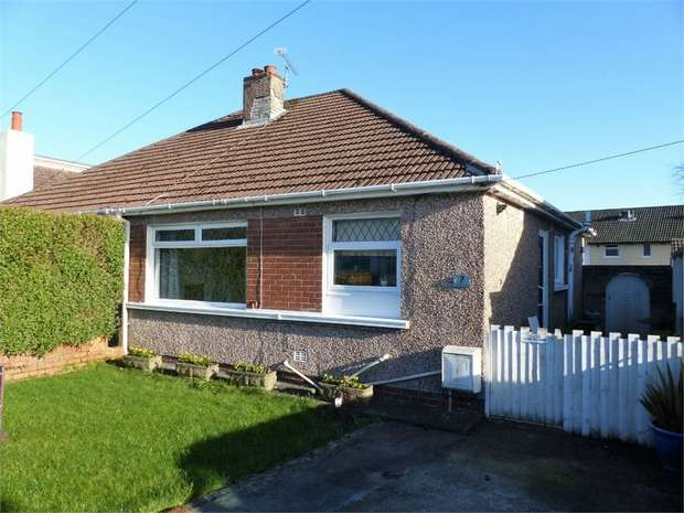 2 Bedrooms Semi Detached Bungalow for sale in Tennyson Drive, Cefn Glas, Bridgend, Mid Glamorgan
