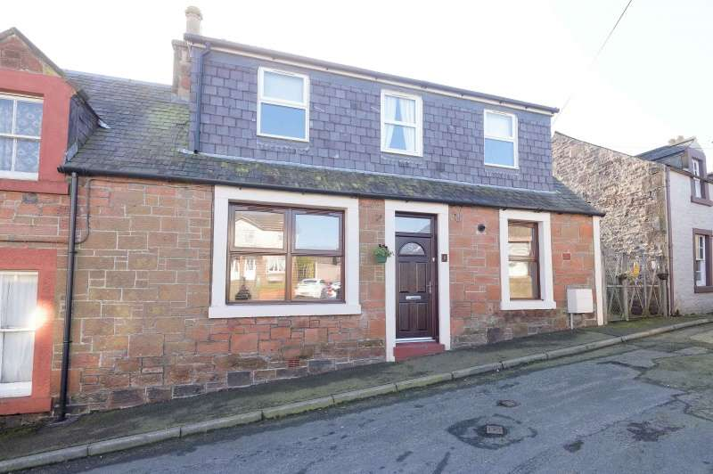 2 Bedrooms End Of Terrace House for sale in Well Street, Lockerbie, Dumfries and Galloway, DG11 2EY