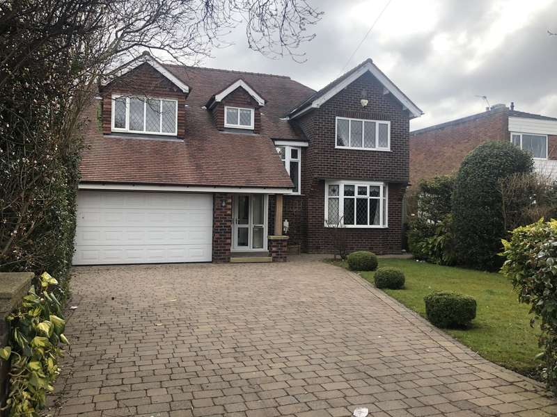 4 Bedrooms Detached House for rent in Chester Road, Hazel Grove, Stockport, SK7