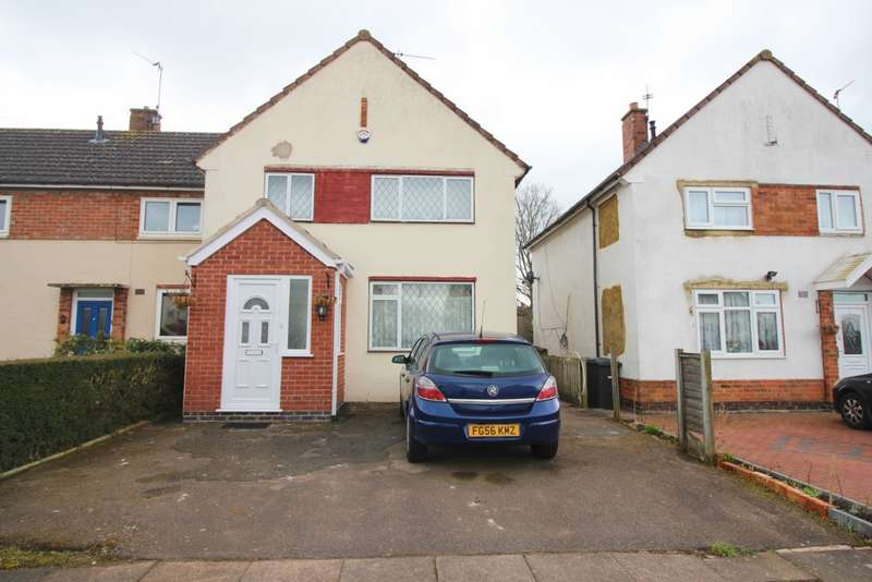 3 Bedrooms Semi Detached House for sale in Nelot Way, Leicester, LE5
