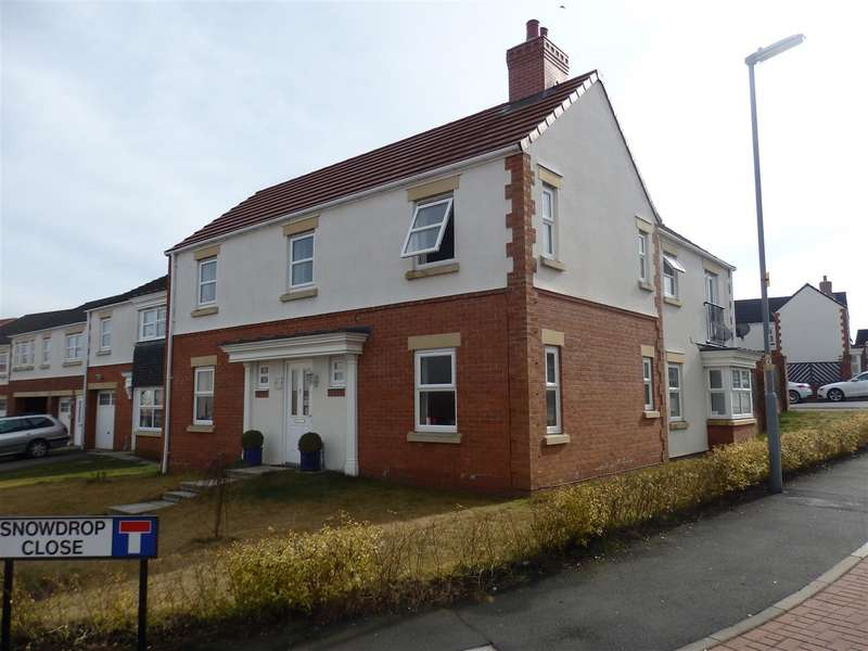 4 Bedrooms Detached House for sale in Snowdrop Close, Spennymoor