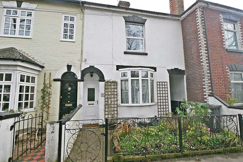 2 Bedrooms Terraced House for sale in Victoria Road, Netley Abbey, Southampton, SO31 5DQ