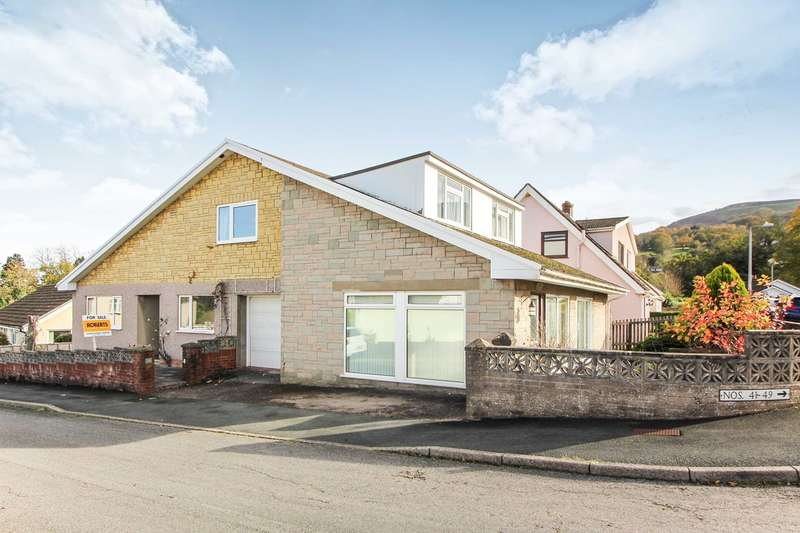 4 Bedrooms Detached House for sale in Orchard Close, Gilwern, Abergavenny, NP7