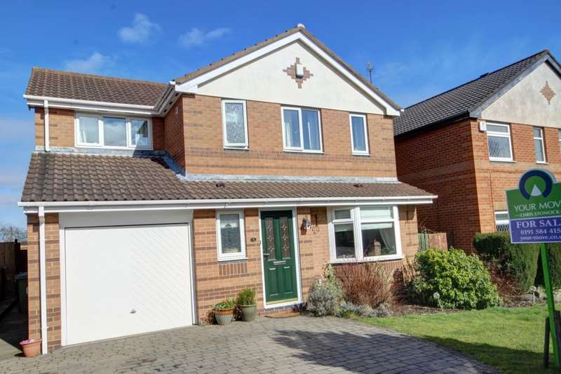 4 Bedrooms Detached House for sale in Chingford Close, Penshaw, Houghton Le Spring, DH4