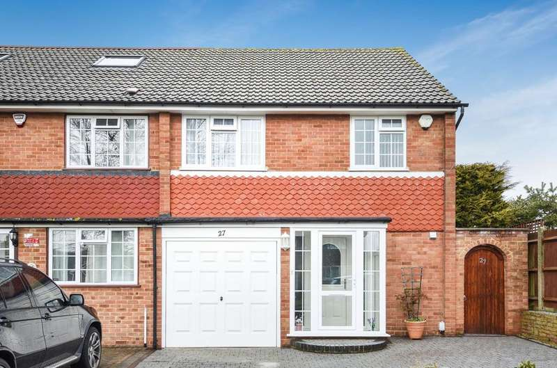 3 Bedrooms Semi Detached House for sale in Osgood Avenue Orpington BR6