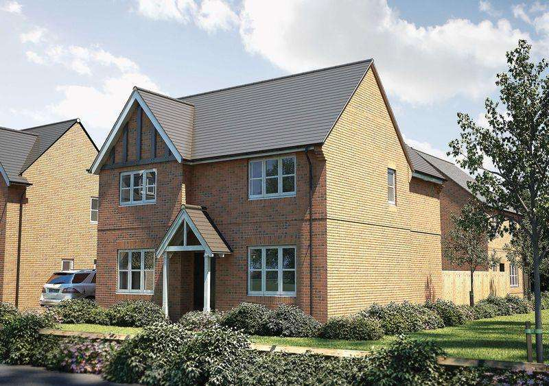 4 Bedrooms Detached House for sale in The Houghton, Alderley Gate, Congleton