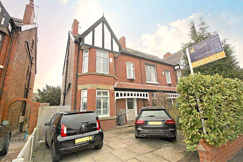 5 Bedrooms Semi Detached House for sale in CHEADLE HULME ( QUEENS ROAD )