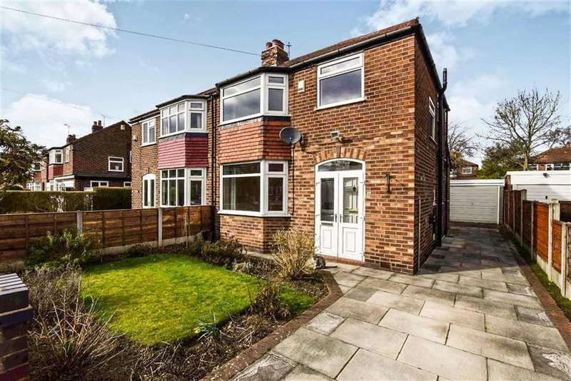3 Bedrooms Semi Detached House for sale in Newlyn Drive, Sale, M33