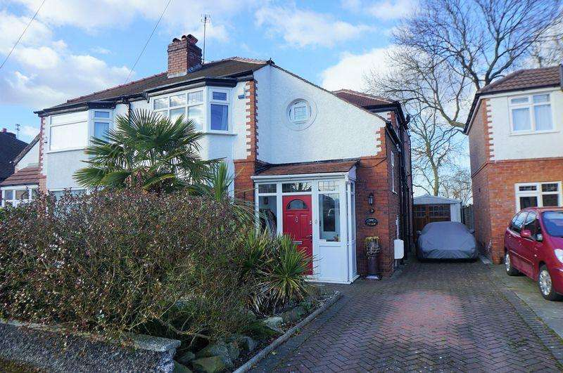 3 Bedrooms Semi Detached House for sale in Princess Avenue, Cheadle Hulme