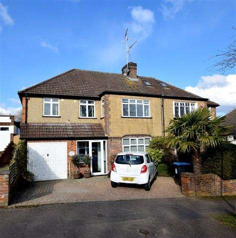 4 Bedrooms Semi Detached House for sale in Coniston Road, Kings Langley, Kings Langley