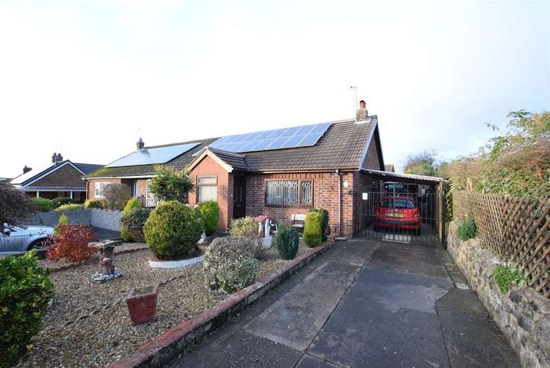 2 Bedrooms Semi Detached Bungalow for sale in Stainton Drive, Scunthorpe, DN17 2SF