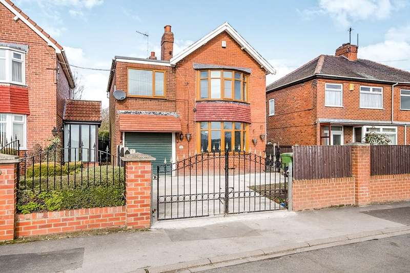 4 Bedrooms Detached House for sale in Sowgate Lane, Ferrybridge, Knottingley, WF11