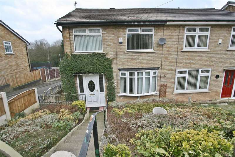 3 Bedrooms Semi Detached House for sale in Halliwell Walk, Prestwich