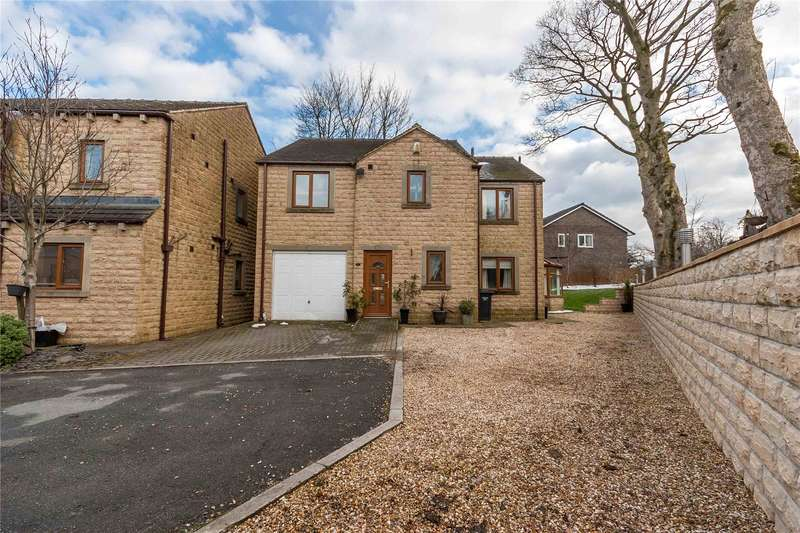 4 Bedrooms Detached House for sale in Elms Court, Illingworth, HALIFAX, West Yorkshire, HX2