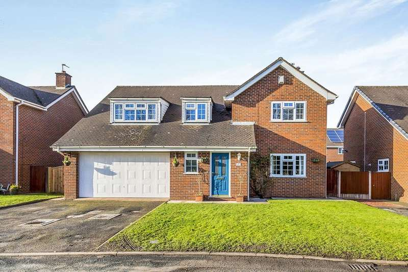 4 Bedrooms Detached House for sale in Ravenscroft, Holmes Chapel, Crewe, CW4