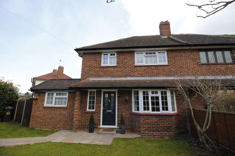 3 Bedrooms Semi Detached House for sale in Thorpe Lea Road, Egham, TW20