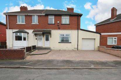 3 Bedrooms Semi Detached House for sale in Fullerton Crescent, Thrybergh, Rotherham, South Yorkshire