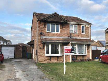 2 Bedrooms Semi Detached House for sale in Larkspur Croft, Boston, Lincs, England